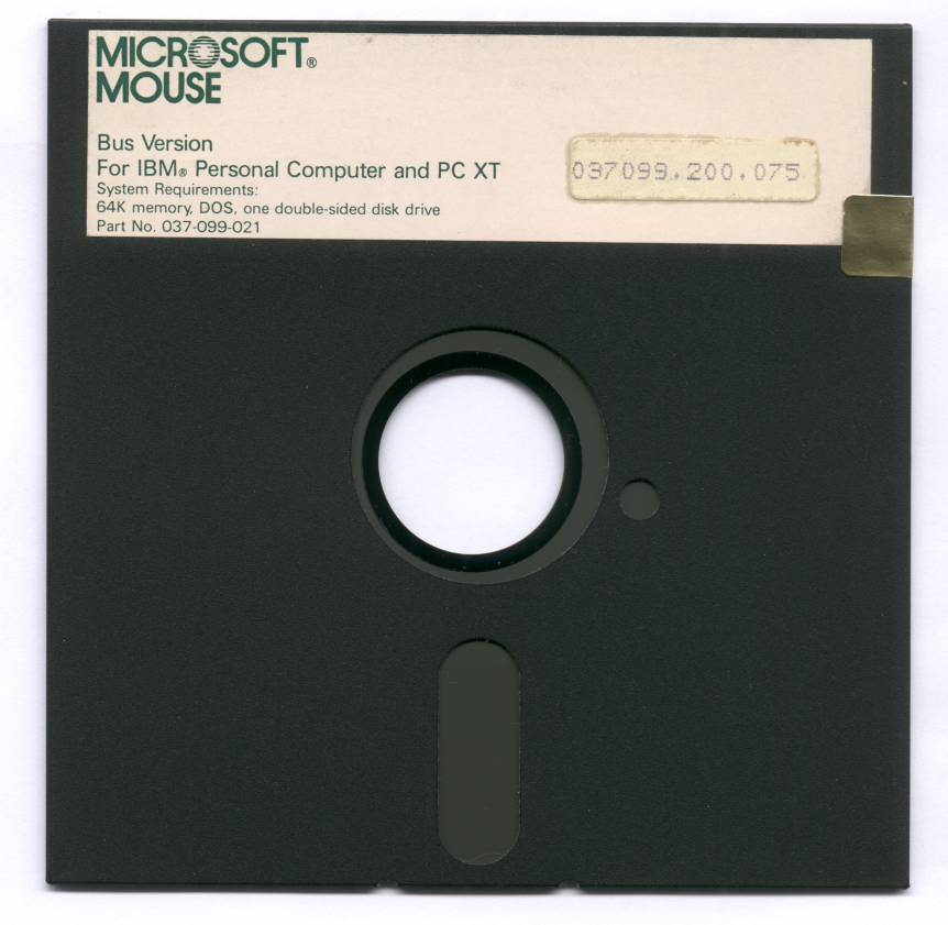 MS Mouse 2.00 Diskette