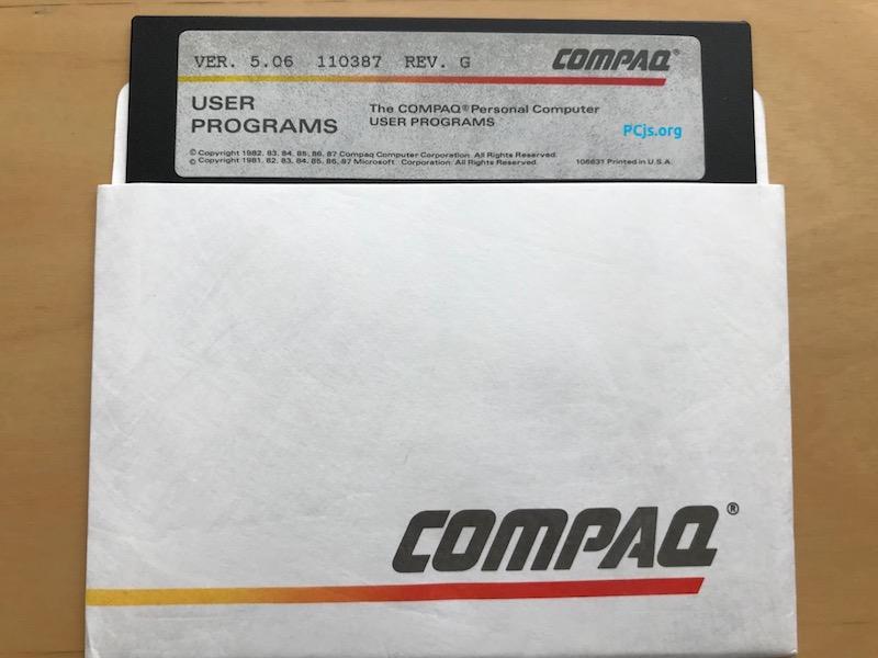 COMPAQ User Programs (1987)
