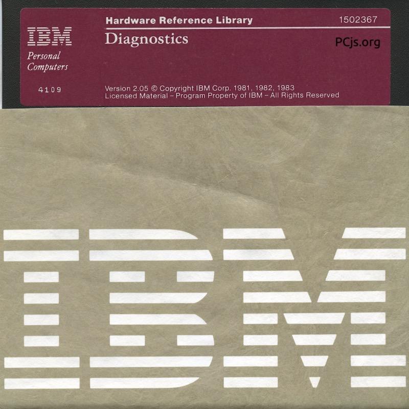 IBM PC Diagnostics 2.05