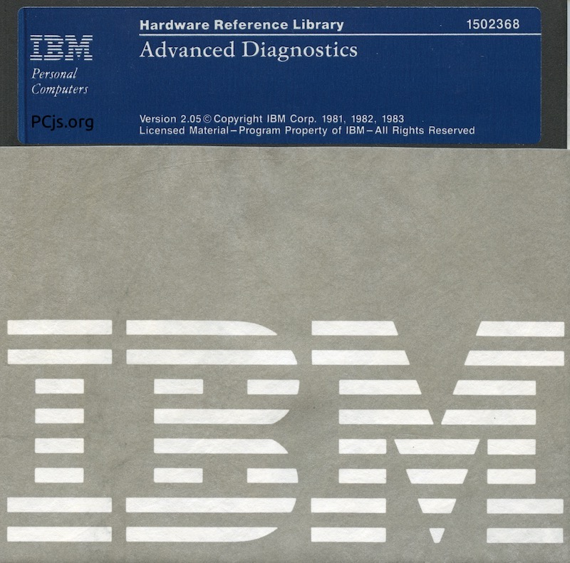 IBM PC Diagnostics 2.05 (Adv)