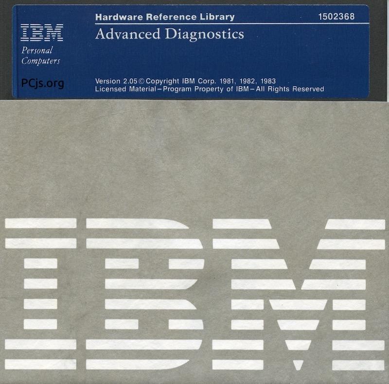 IBM PC Diagnostics 2.05 (Adv)