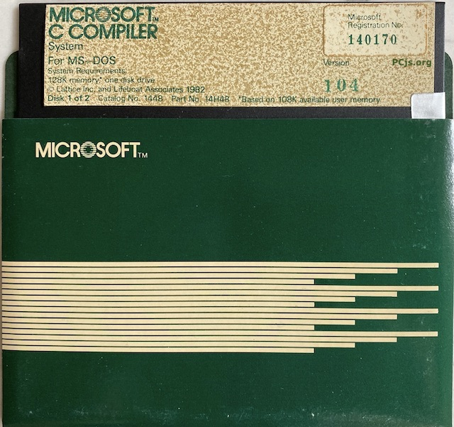 MS C 1.04 (Disk 1)