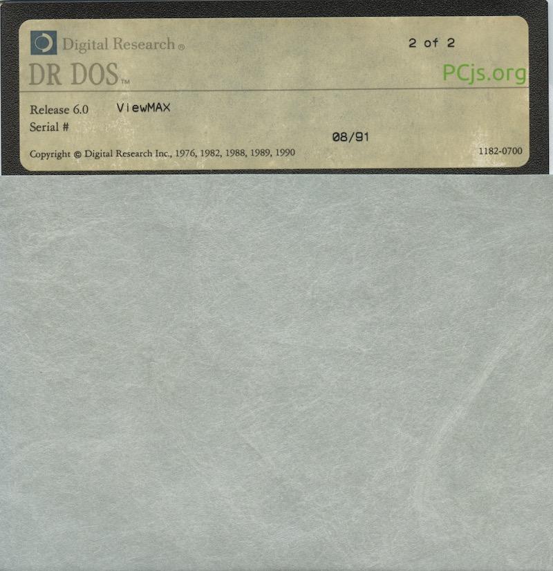 DR DOS 6.00 Disk 2