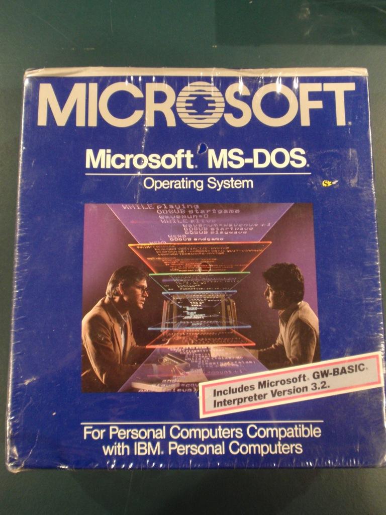 MS-DOS 3.20 Box