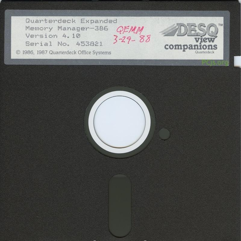 QEMM-386 v4.10
