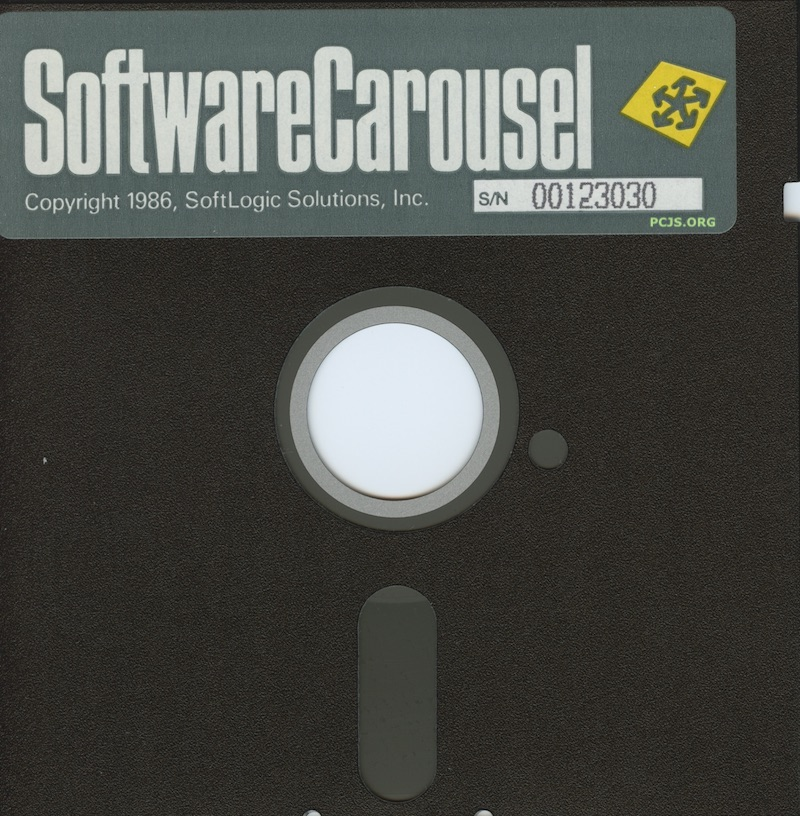 Software Carousel Diskette