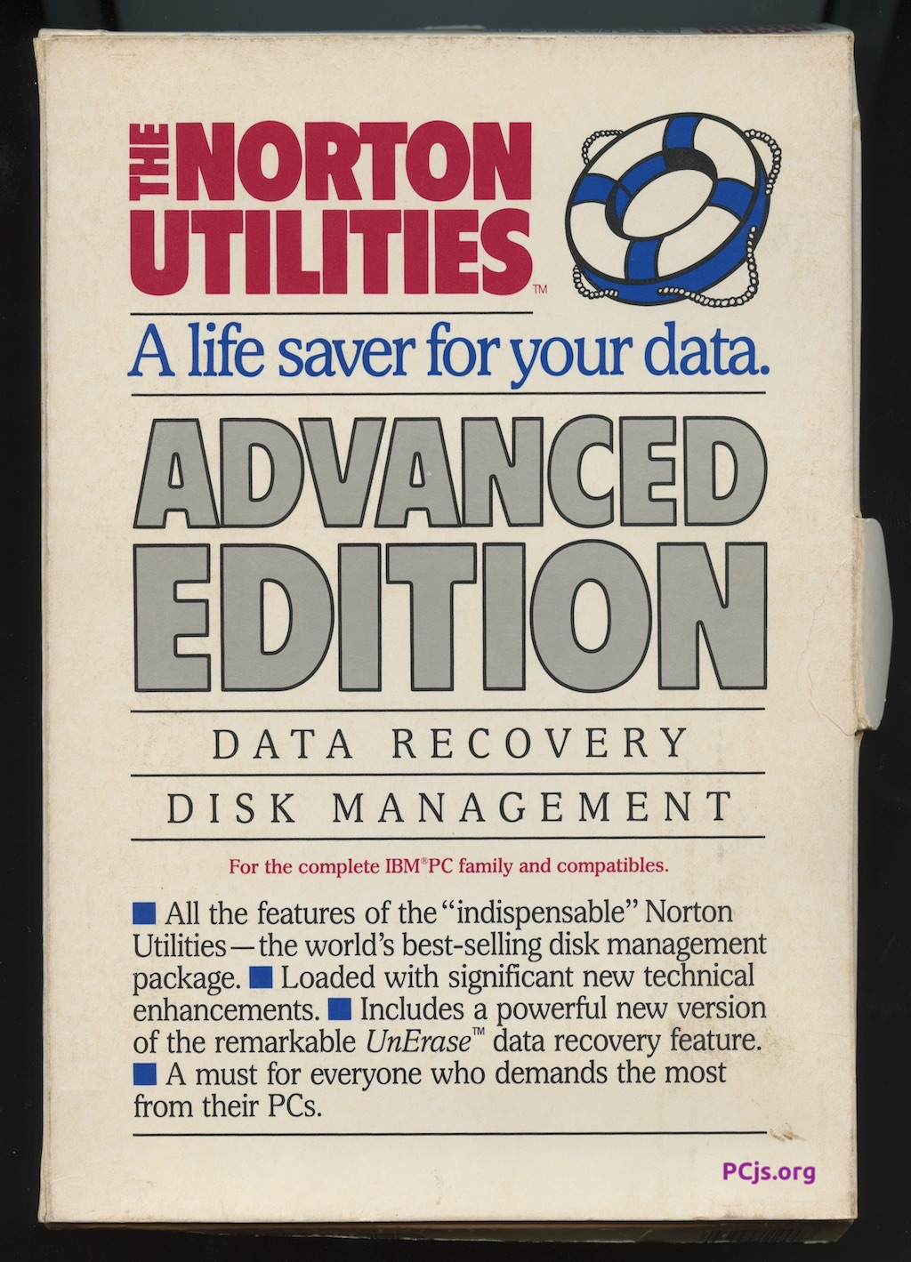 Norton Utilities 4.00 (Box Front)
